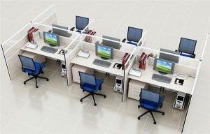 Phá bỏ được không gian làm việc cứng với kiểu thiết kế hiện đại