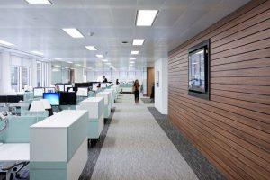 Thiết kế văn phòng phù hợp với công nghệ cao