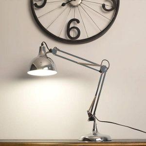 Đèn trang trí bàn làm việc Pixar màu bạc