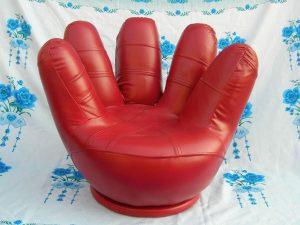 Ghế bành đơn hình bàn tay