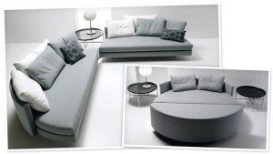 Ghế sofa giường tròn