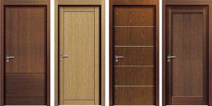 Cửa gỗ MDF đàn hồi tốt, màu sắc, thiết kế đa dạng, bền màu, an toàn với sức khỏe người dùng.