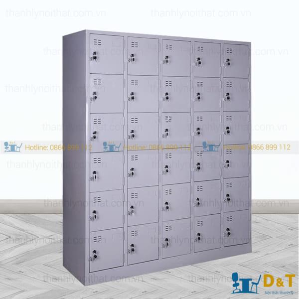 Tủ đựng tài liệu nhiều ngăn bằng sắt tại Hà Nội - 1