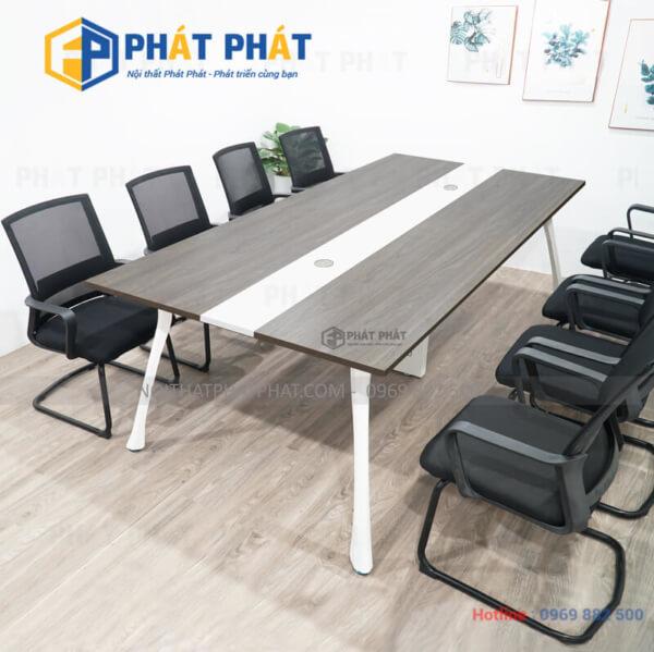 Sử dụng bàn họp chân sắt giá rẻ cho không gian văn phòng hiện đại - 1